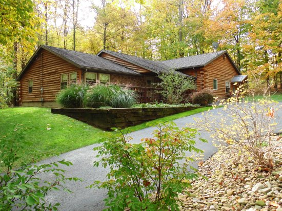 vacation ohio images of pinterest on rentals cabins lakeside cabin fresh best